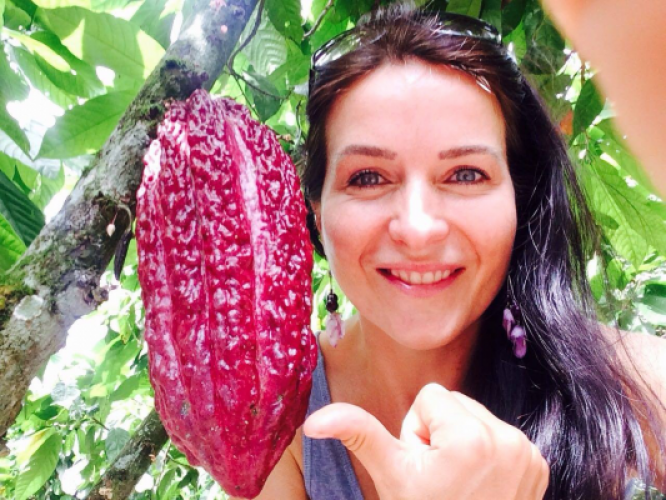 Interview with Tereza Havrlandova: her passion for living food
