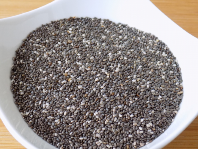 Healthy with Chia seeds