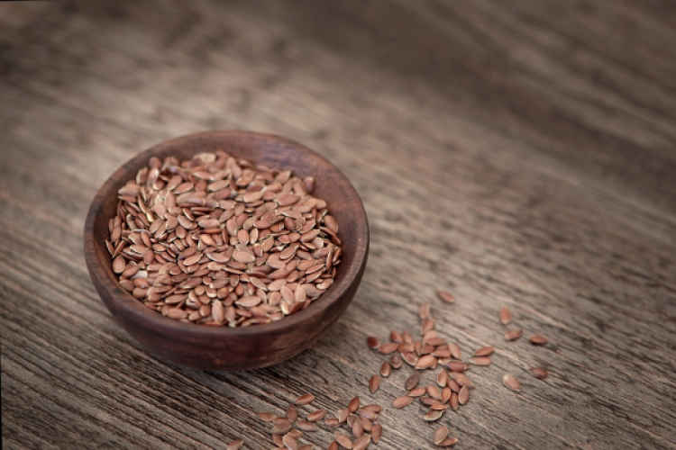 Healthy and fit with flaxseeds