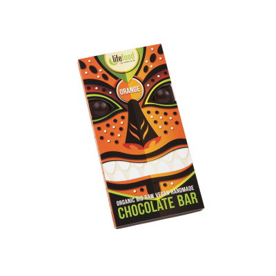 Raw Organic Orange Chocolate 70g