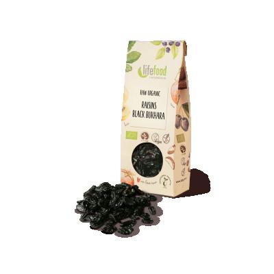 Raw Organic Black Bukhara Raisins