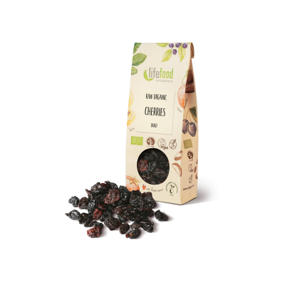 Raw Organic Dried Pitted Cherries