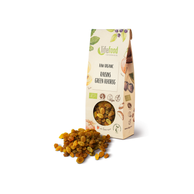 Raw Organic Green Khorog Raisins