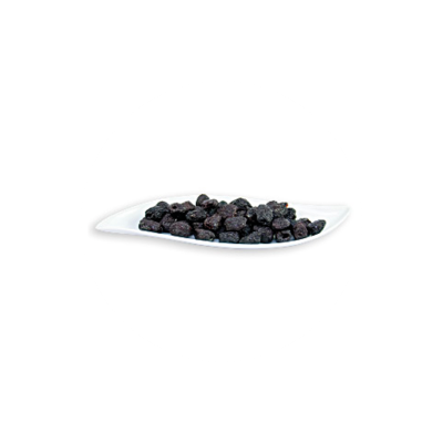 Raw Organic Dried Black Botija Pitted Olives 500 g