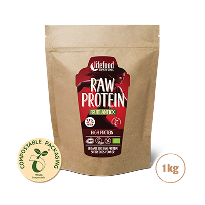 Raw Organic Fruit Antiox Protein Superfood Powder 1 kg