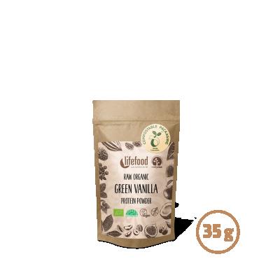 Raw Organic Green Vanilla Protein Superfood Powder 35 g