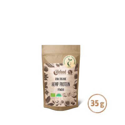 Raw Organic Hemp Power Protein Superfood Powder 35g