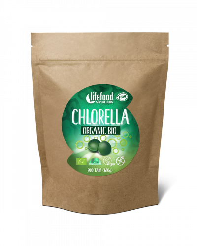 Raw Organic Chlorella Tablets