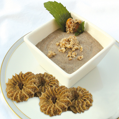 Chia Pudding with Baobab and Mint