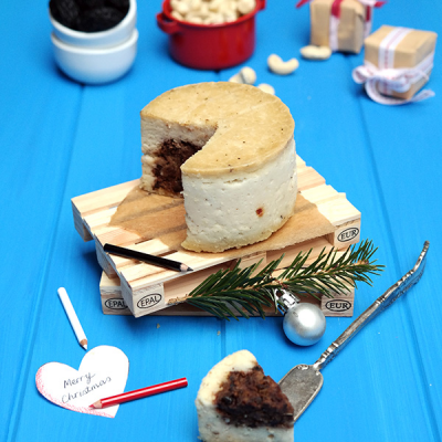 Fermented Cheese With Olive Heart