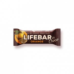 Raw Organic Lifebar InChoco Orange