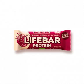 Raw Organic Lifebar Protein Raspberry