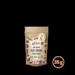 Raw Organic Cacao Spirulina Protein Superfood Powder 35 g
