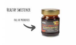 Looking for a healthy sweetener? Yacón with probiotics is the answer.