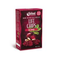 Raw Organic Beetroot Chips