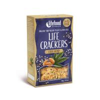 Raw Organic Chia Hemp Life Crackers