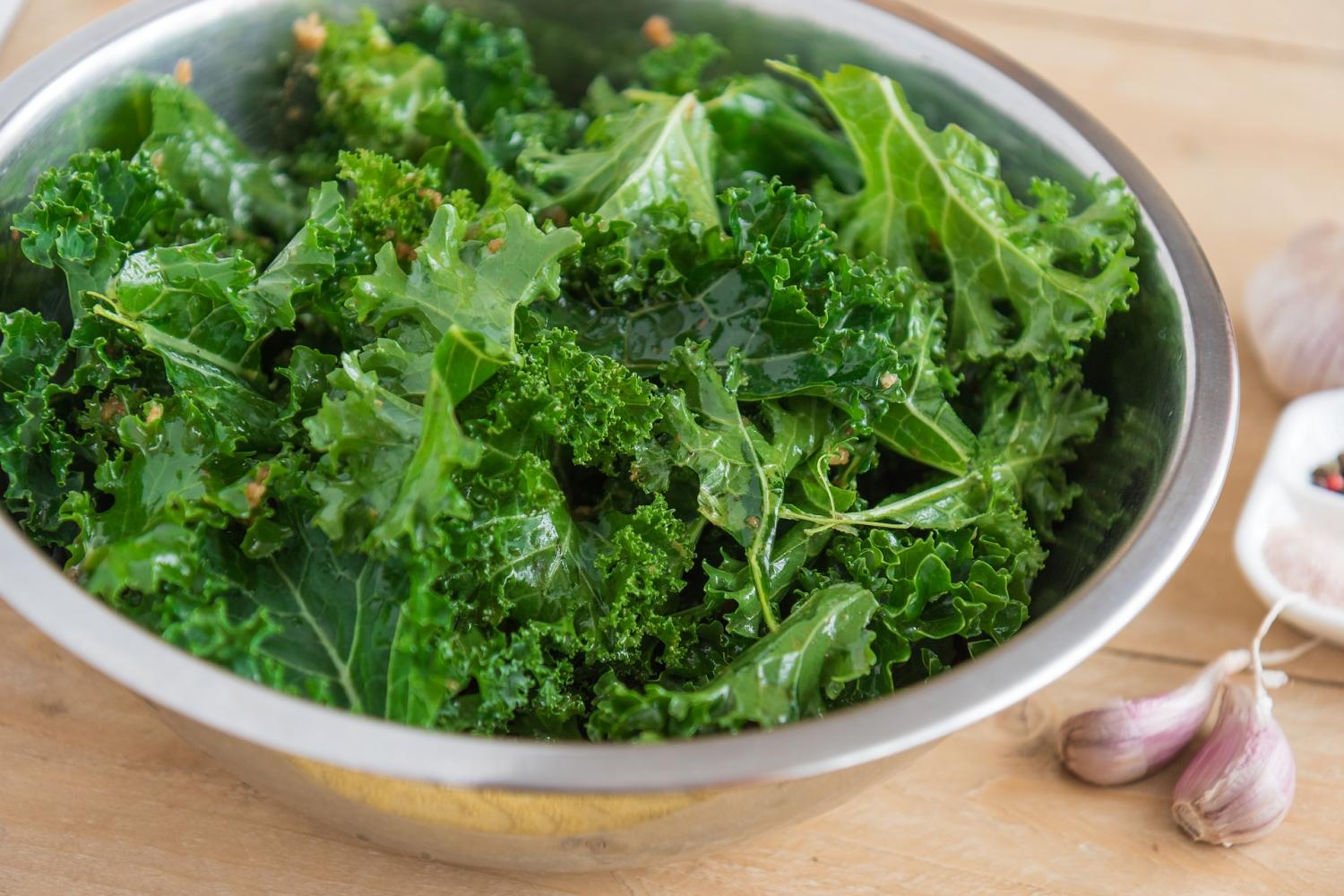 Kale - the sweet winter vegetable