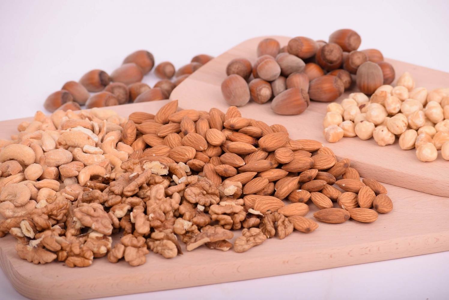 Nüsse als Proteinquelle