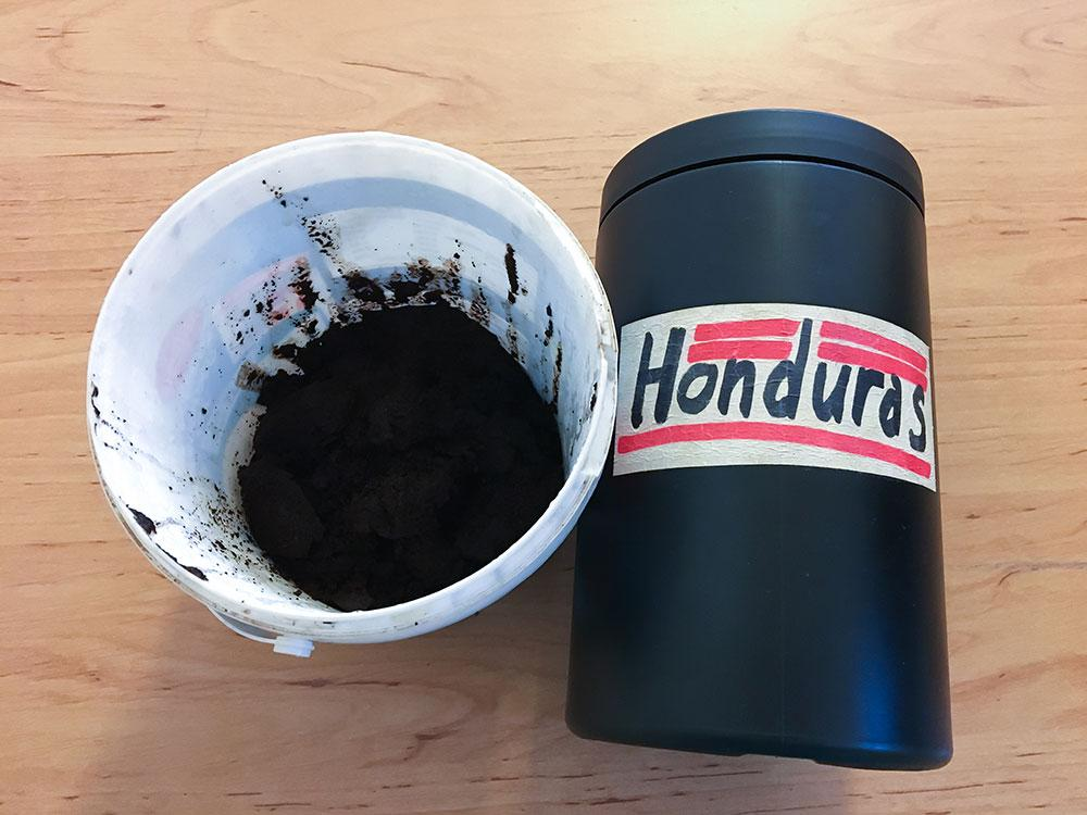 Coffee for the garden
