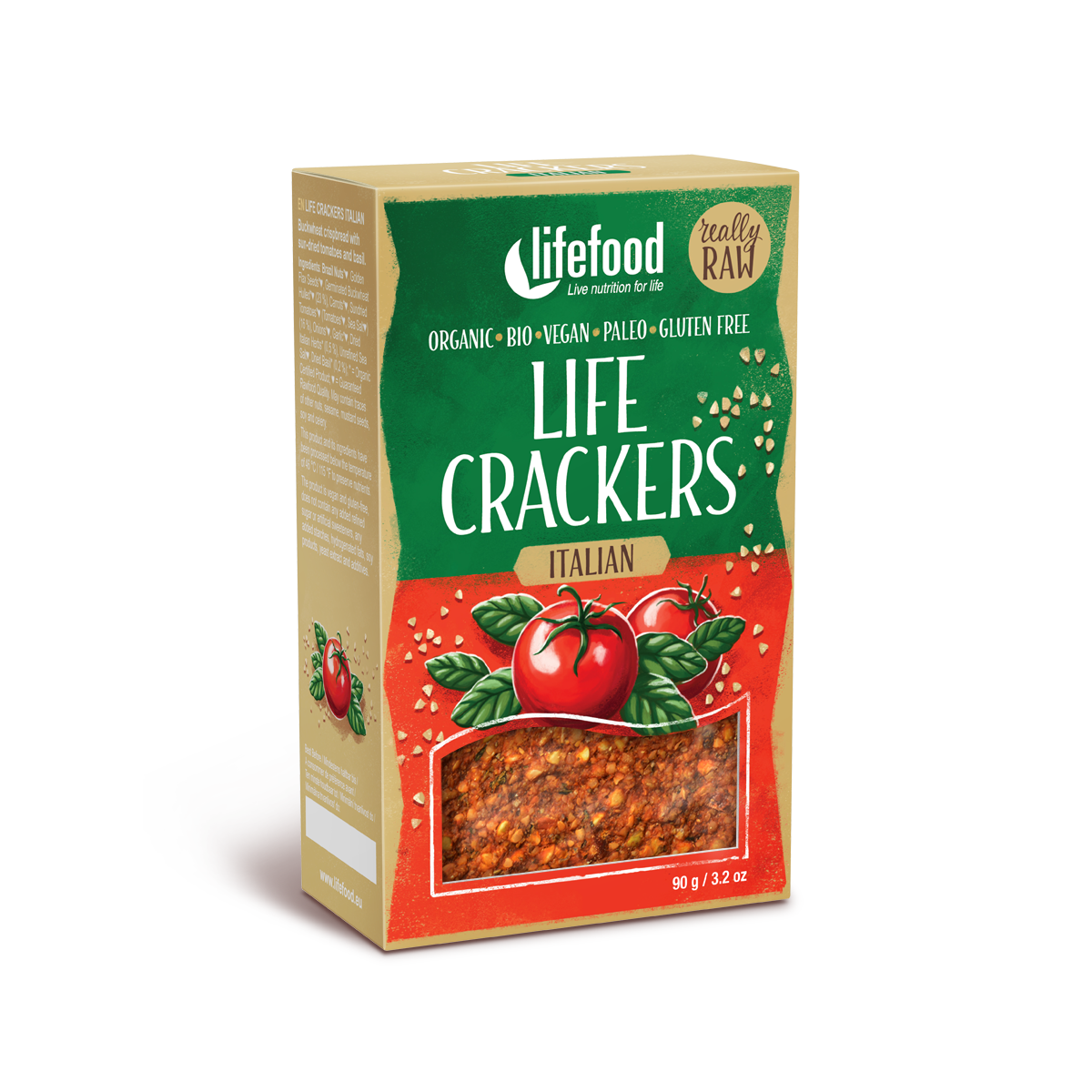 Life Crackers Raw Organic