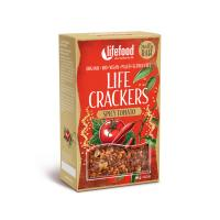 Tomato chilli crackers