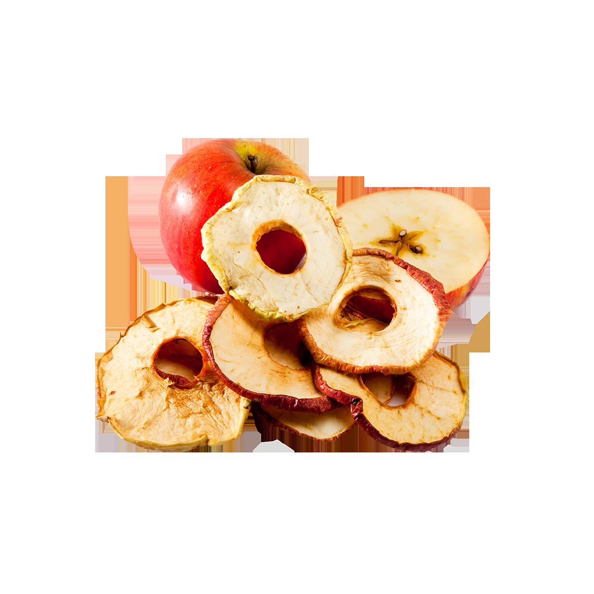Getrockneter Apfel Rohkost