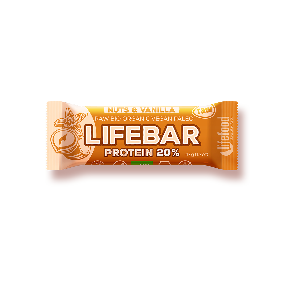 http://contao.lifefood.eu/tl_files/data/en/NEW products/lifebars/lifebars protein/nuts vanilla/Lifebar-Protein-VANILLA-HAZELNUT_1200x1200px.png