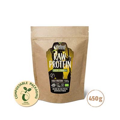 RawProtein green vanilla