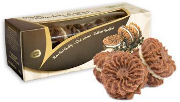 Schokoladen Cookies mit Cashew Cream ROH BIO