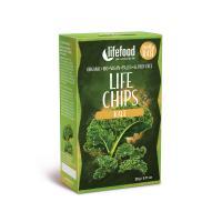 Chips de kale bio cru