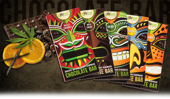 Lifefood raw chocolate